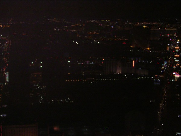 From, I think, 108 stories up
