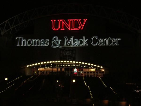 UNLV's Thomas & Mack Center